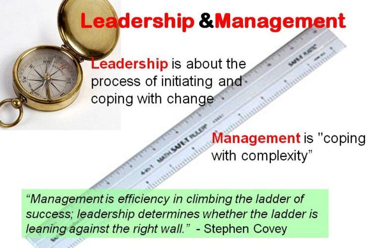 Balancing Management and Leadership
